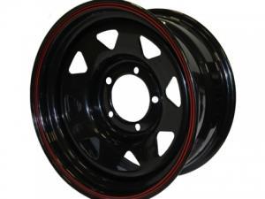 Диск колесный стальной redBTR 8х15/5х139,7 D110 ET-19 черный
