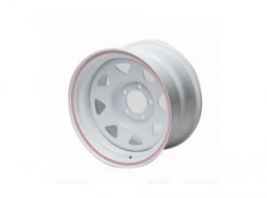 Диск колесный стальной redBTR 8х15/5х139,7 D110 ET-19 белый
