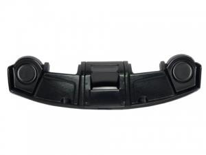 Полка под магнитолу и колонки УАЗ 452 (цвет: черный) пластик