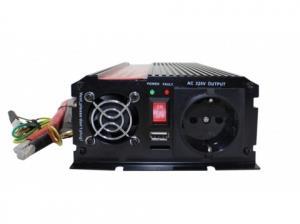 Инвертор напряжения redBTR автомобильный 12/220V 1500W