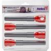 Комплект ввертышей HELIOS для зимней палатки (-45) серо-оранжевый (4шт/уп)