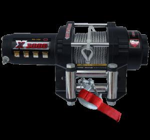 MW X3000 Лебедка для квадроцикла электрическая